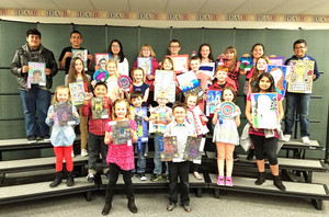 Elementary Phillips County Art Show Winners