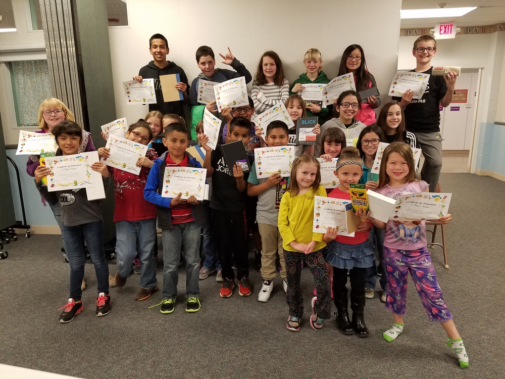 Elementary Art Show Winners Announced