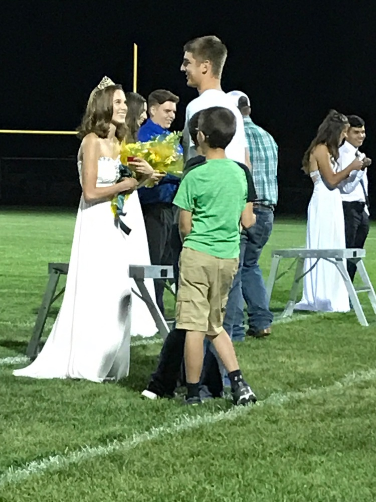 Homecoming King and Queen!