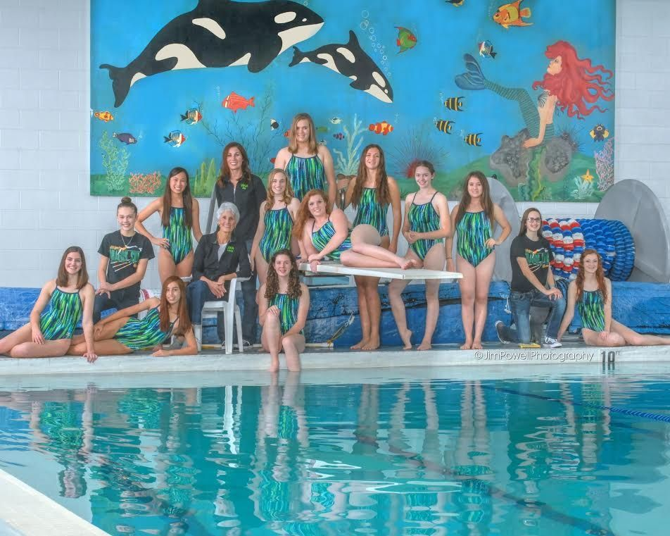 2017 Holyoke Girls Swim Team