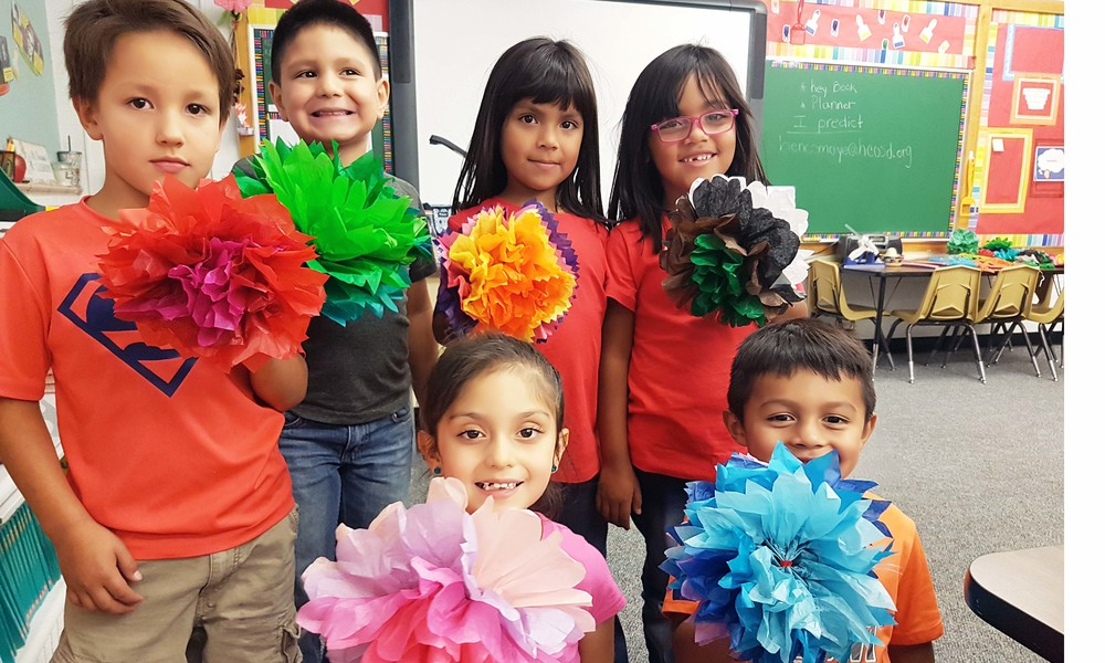Primary Students Celebrate Hispanic Heritage Month