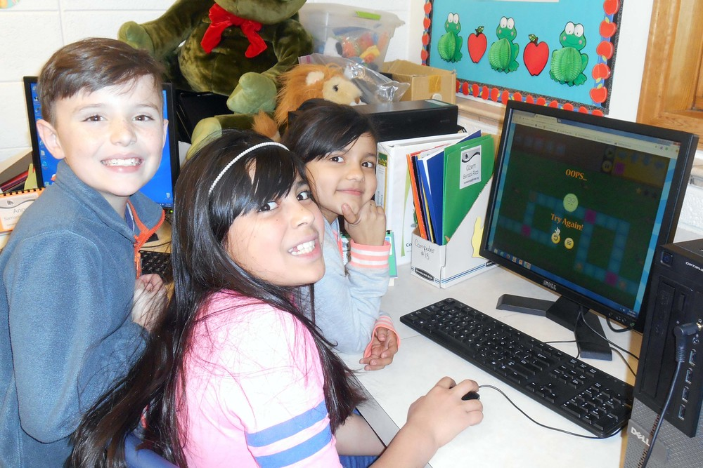 Hour of Code at Holyoke Elementary