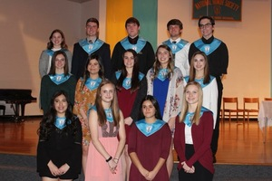 Holyoke Honor Society Inducts New Members