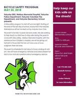 Bike Safety Program May 25