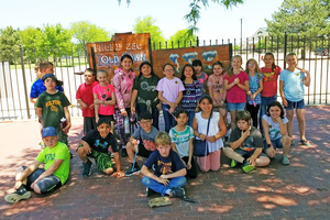 Third Graders at Old Town Burlington