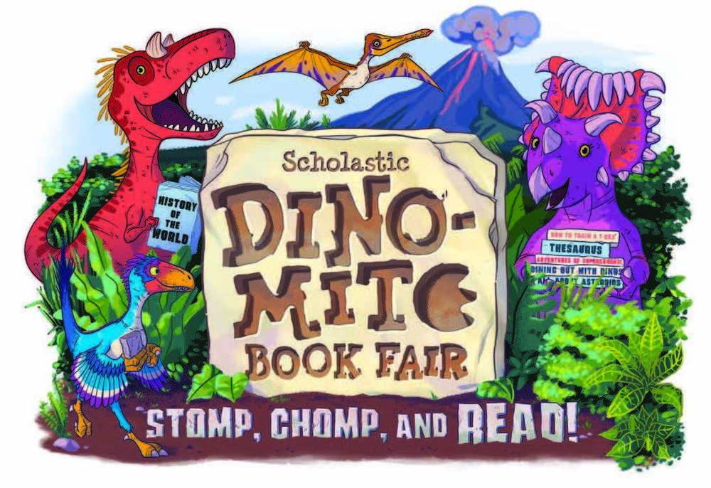 Books are Dino-mite, Elementary  Book Fair