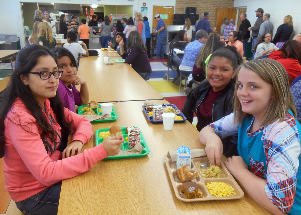 Thanksgiving Feast at Holyoke Elementary