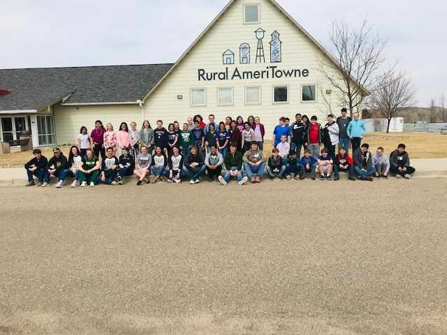 Fifth Grade Visits Rural AmeriTowne
