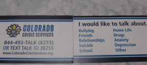 Bullying and Crisis Services at HHS