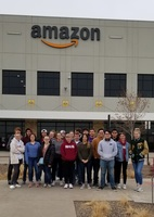 Business Students Visit Amazon and Hammonds