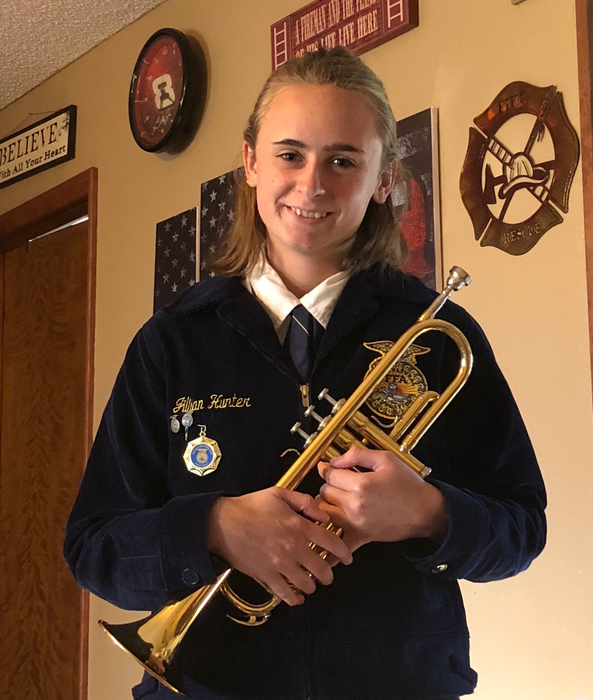 Jillian Hunter to play in 2018 National FFA Band