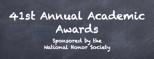 41st Annual Academic Awards