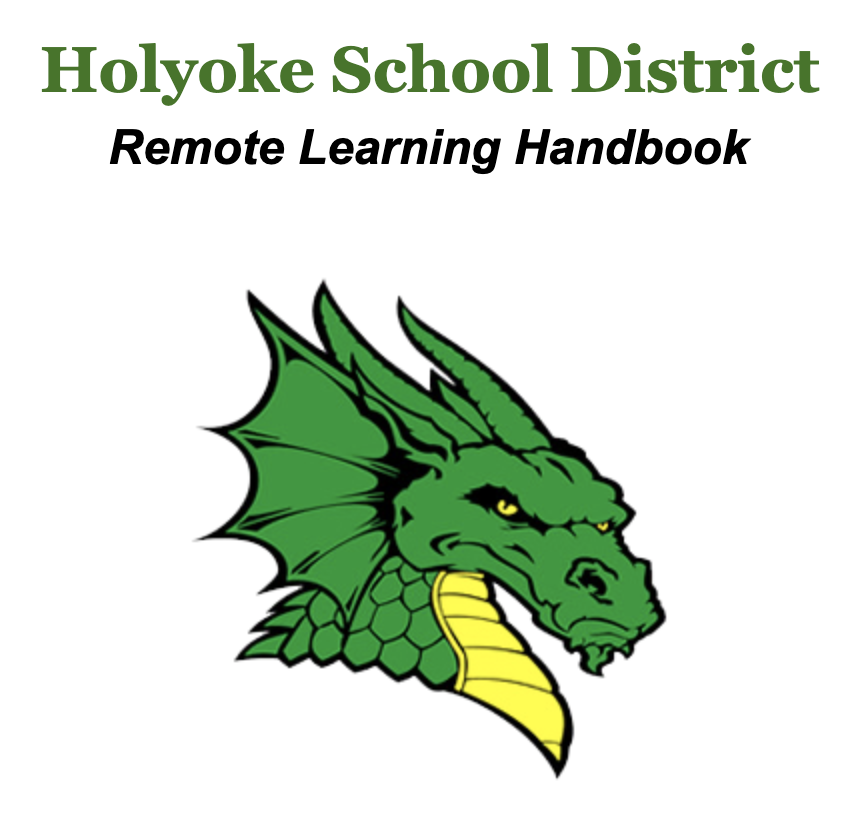 Holyoke Dragon on a white background