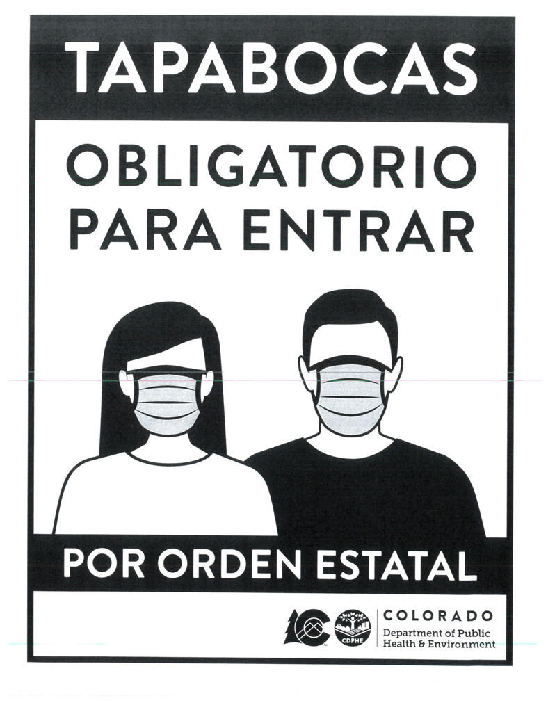 Masks Required (Spanish)