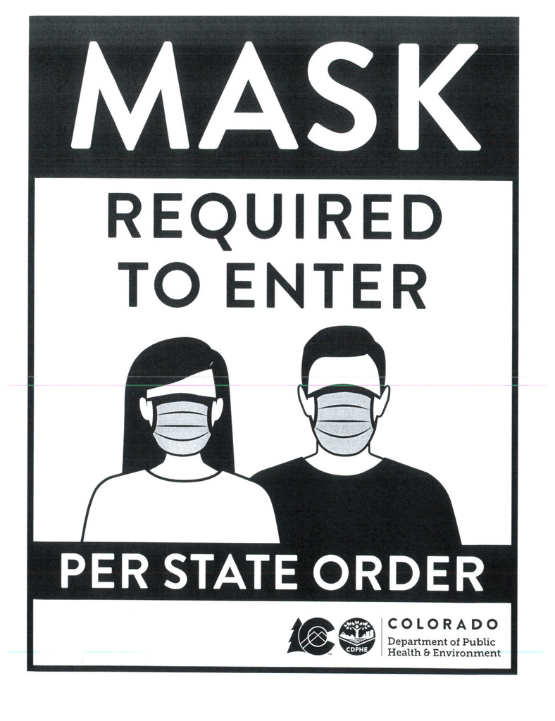 Masks Required to Enter
